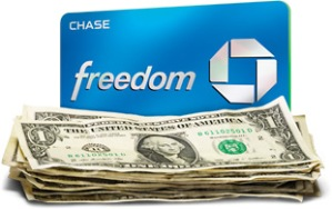 Chase Freedom Cash Back